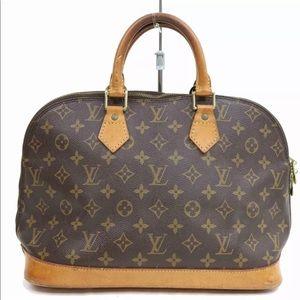 39a510a35ab7 Authentic Louis Vuitton Monogram Alma Purse Bag